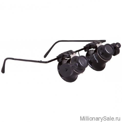 Лупа-очки ювелира – часовщика с увеличением в 20 раз