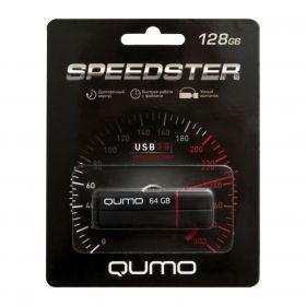 128GB USB-флеш накопитель QUMO USB 3.0 SPEEDSTER черный