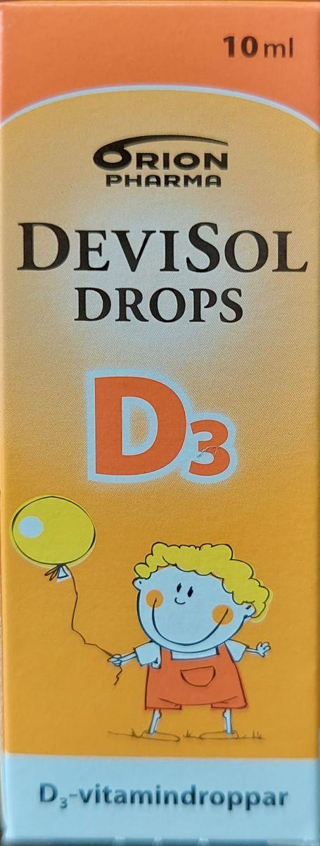 Витамины Devisol Drops (Витамин D3) 10мл