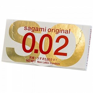 Презервативы Sagami original 0,02мм 2шт.