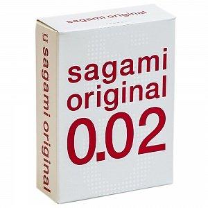 Презервативы Sagami original 0,02мм 3шт.