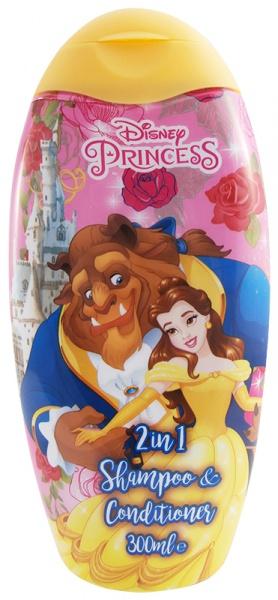 Шампунь Disney 2в1 Красавица и Чудовище 300мл