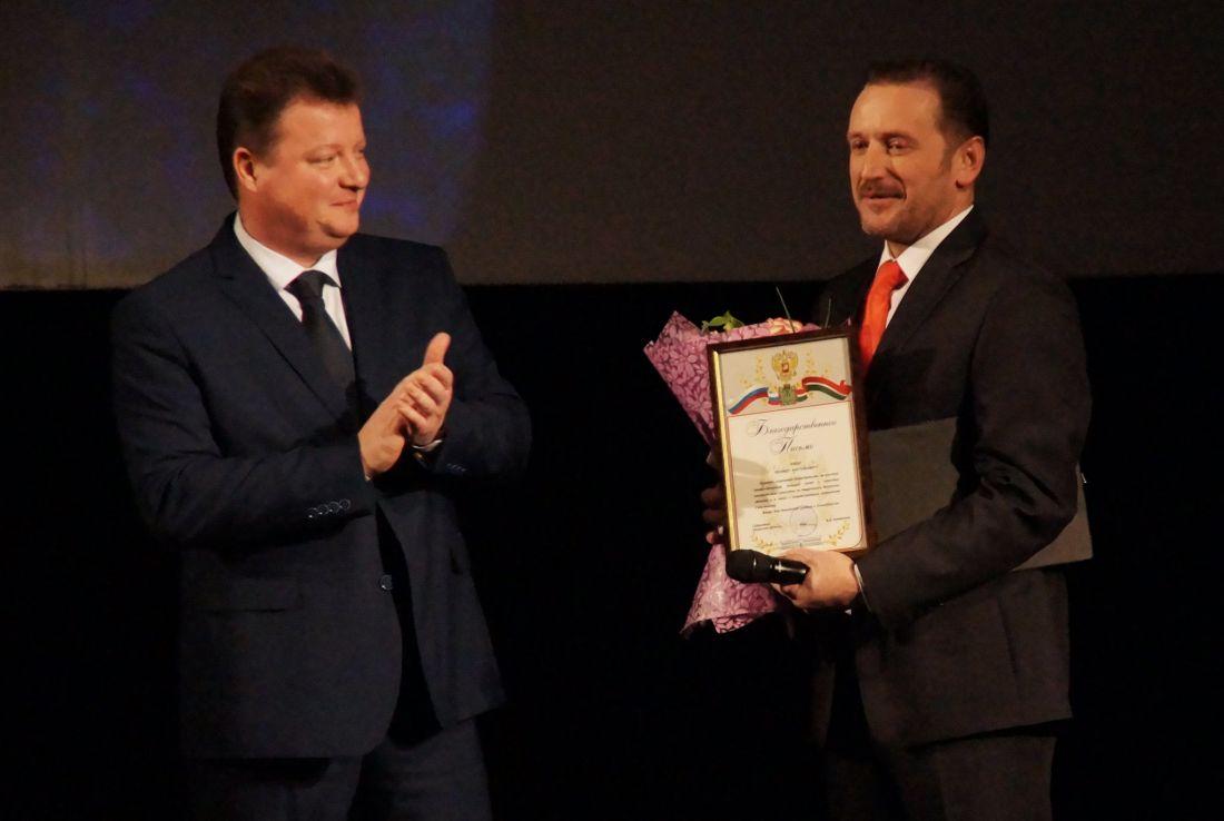 Мастерская награждена за вклад в развитие театрального дела в Калужской области!