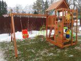 Детская площадка IgraGrad Крафт Pro 3