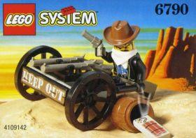 6790 Лего Тележка бандита