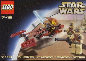 7113 Лего Битва с налетчиками тускенами