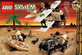 2879 / 5948 Лего Искатели сокровищ