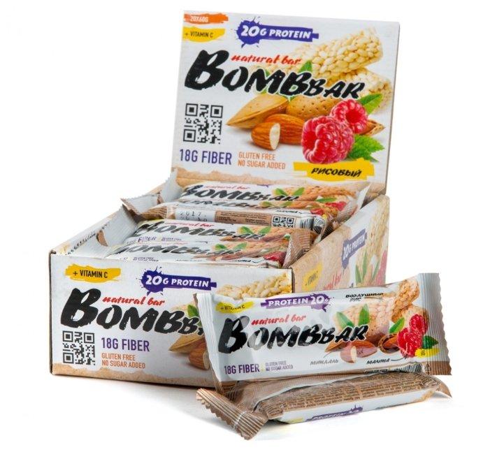 Батончики BombBar (Воздушный рис)