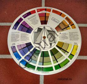 Цветовой круг 14 см