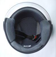 Шлем открытый Jiekai 202 white фото 5