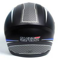 Шлем интеграл Safebet 112 matt black, blue фото 4