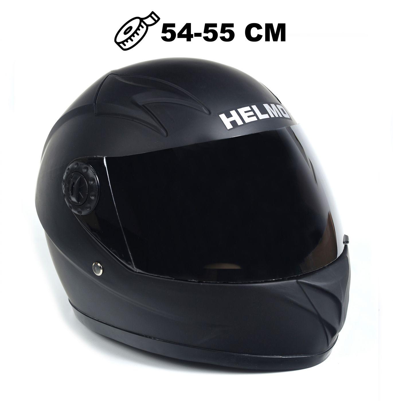 Шлем детский интеграл Helmo 02 Black Matt