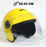 Шлем детский открытый Helmo Yellow фото 1