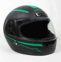 Шлем интеграл Helmo HZF03 BlackMat-Green фото 2