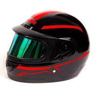 Шлем интеграл Helmo Double Glass Red фото 3