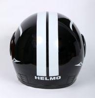 Шлем интеграл Helmo Double Glass Black-White фото 4