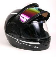 Шлем интеграл Helmo Double Glass Black-White фото 5