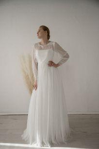"""Свадебное платье """"Los"""" с рукавом Т.Каплун"""
