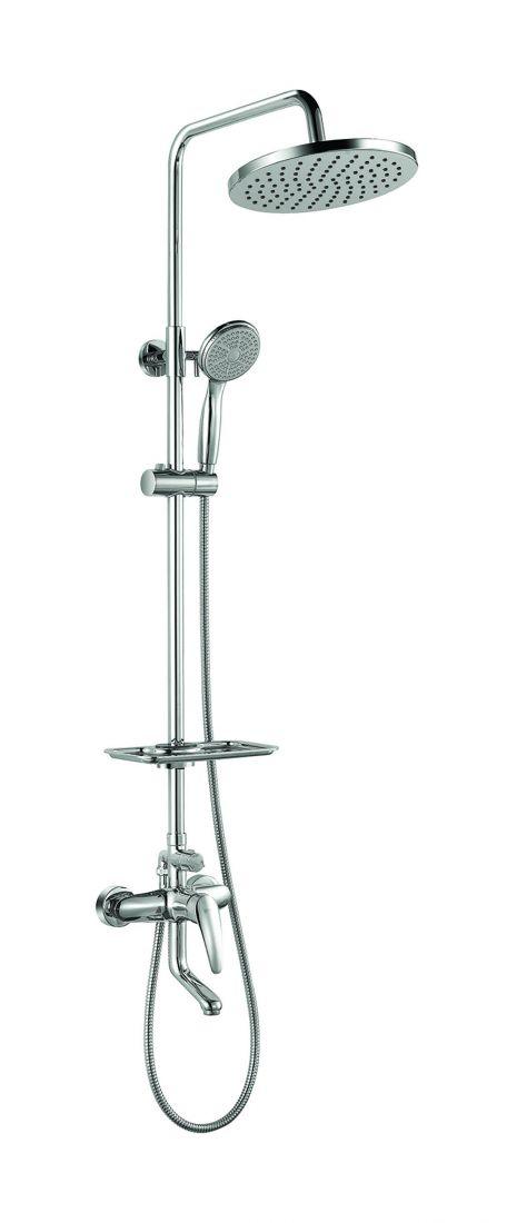 Душевая система Lemark Linara для ванны и душа с регулируемой высотой штанги (LM0462C)