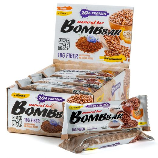 Батончики BombBar (Гречишный)