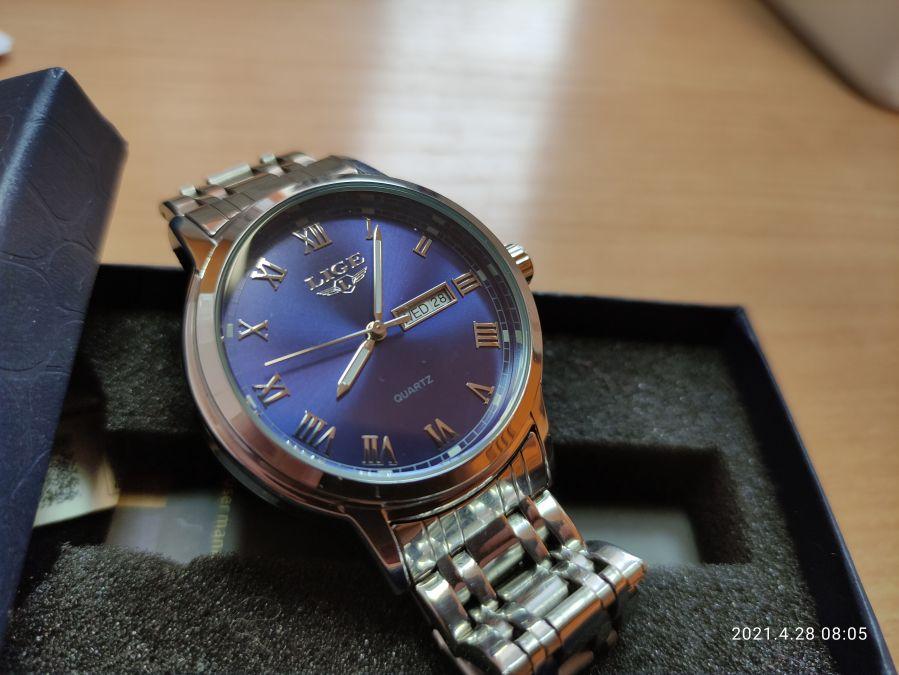 Часы LIGE BLUE