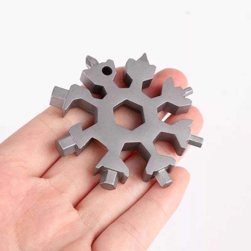 12 в 1 Многофункциональный инструмент Снежинка