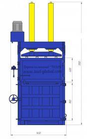 Пресс гидравлический пакетировочный ПГП-30ТШ