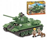 Конструктор Coby танк T-34/85