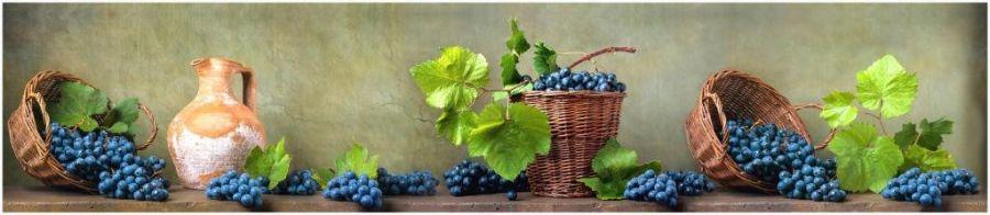 Кухонный фартук TOP 09 - Грозди Винограда