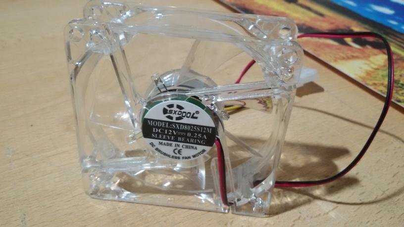 Осевой вентилятор SXD8025S12M - Led