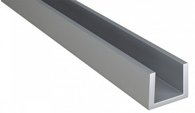 Планка для мебельных щитов торцевая 4мм 1010
