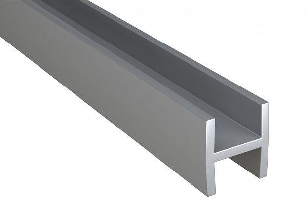 Планка для мебельных щитов Н-обр. 6мм