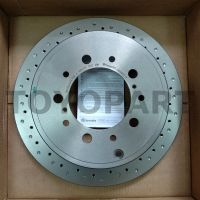 09.A967.1X Диск тормозной задний перфорированный LC200/LX570/LX450d