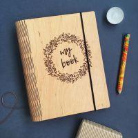 Гибкая деревянная обложка