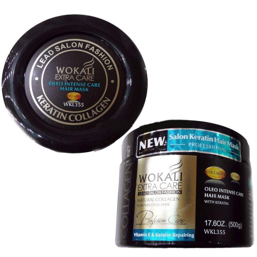Маска для волос WOKALI Oleo с коллагеном