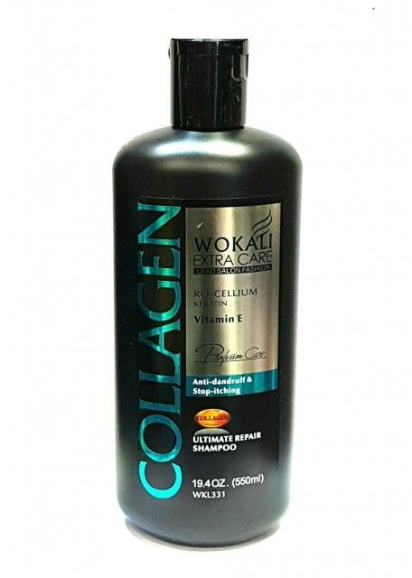 Шампунь Wokali Extra care lead salon fashion