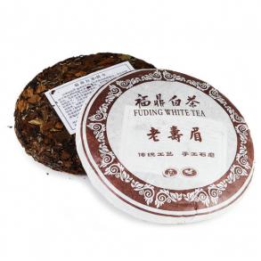 "Белый чай, блин, 357 г ""Шоу Мей"" (фаб. Юкоу, Фудин 2014 г.)"