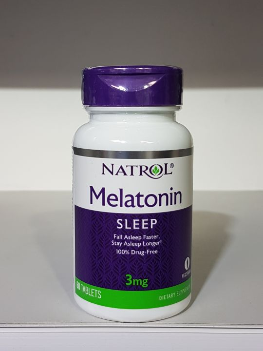 Natrol - Melatonin 3mg (60 таб)