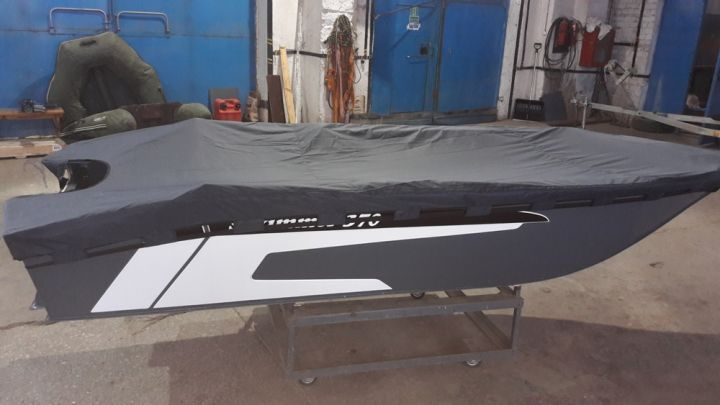 Тент транспортировочный для лодки Swimmer 370