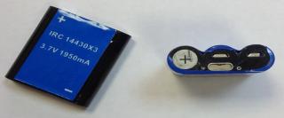 Дополнительный аккумулятор IRC 14430X3