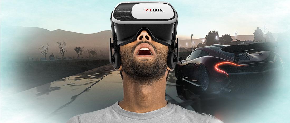 Очки виртуальной реальности VR BOX с Bluetooth пультом
