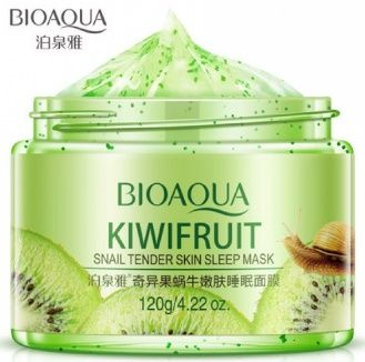 BioAqua Ночная маска для лица с экстрактом киви