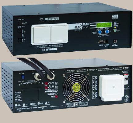 Инвертор МАП Pro 24В (48) 4.5 кВт МикроАрт