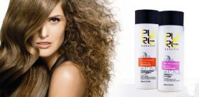 Набор для кератинового выпрямления волос  PURC PURE