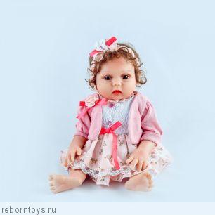 Кукла реборн  ЛАУРА-  ЭКСКЛЮЗИВНАЯ МОДЕЛЬ ТОЛЬКО У НАС!!!
