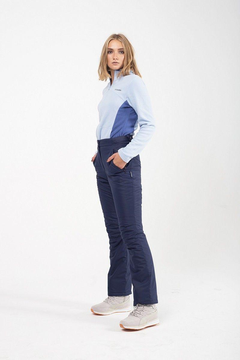 Утепленные женские брюки мембрана т.синий HEIDEN вид2