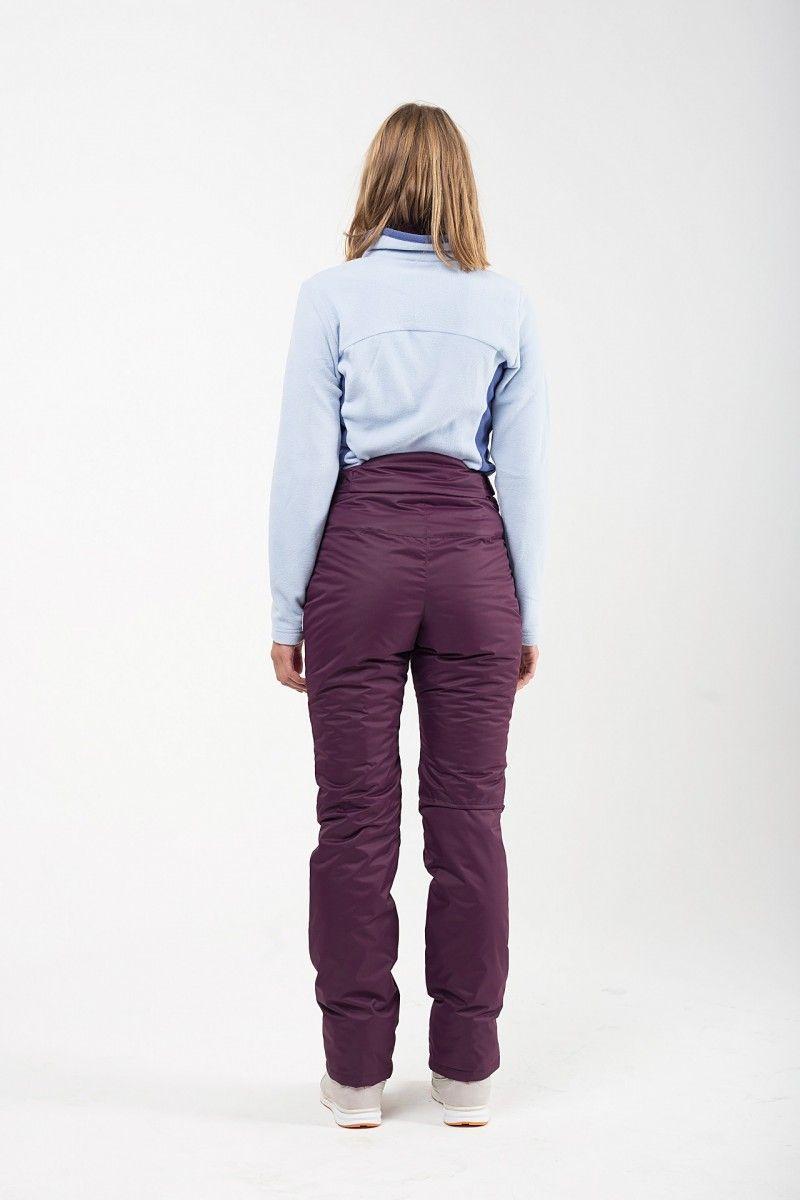 Утепленные женские брюки мембрана темно фиолетовый HEIDEN вид4