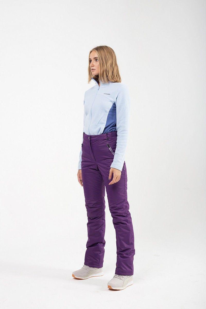 Утепленные женские брюки мембрана фиолетовый HEIDEN вид3