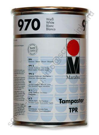 Краска Marabu Tampastar TPR 970 White 1 л.