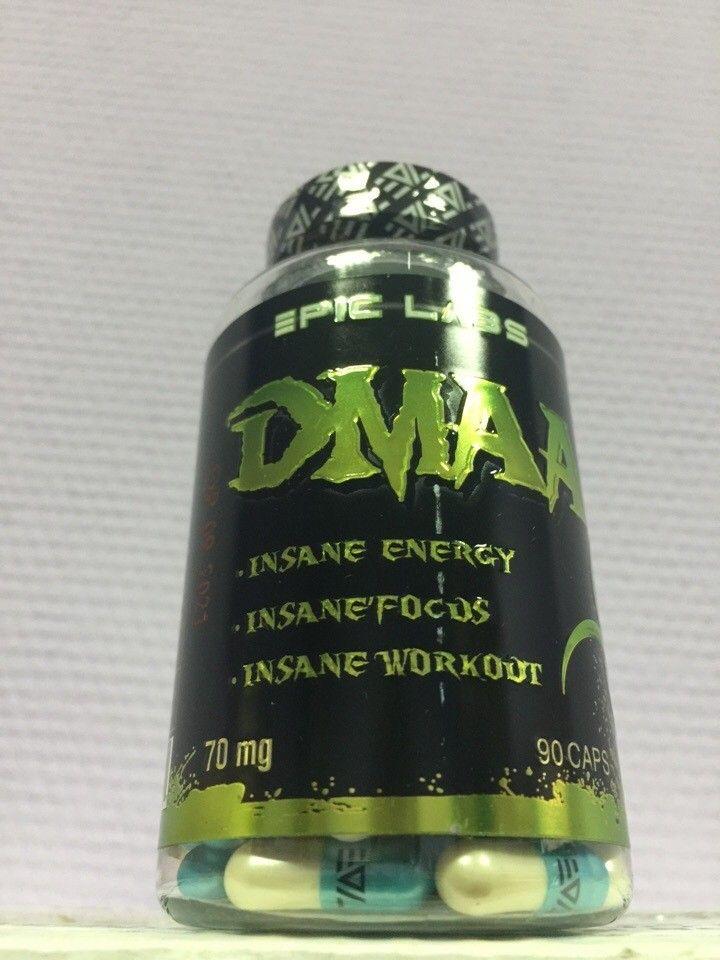 Предтреник DMAA (герань) 70мг*90 кап (Epic Labs)
